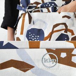 long apron lotus 917 Ivory