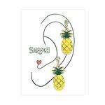 [smooch] My Favorite Fruits - Pineapple Earring