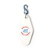 BIGWAVE KEY TAG WHITE