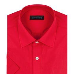 반팔일반]솔리드 레드 빨간색 반팔셔츠