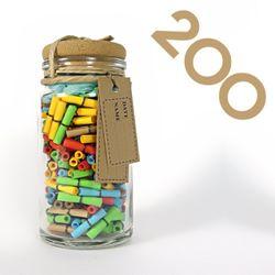 타임캡슐편지 200일 27오색편지 유리병편지