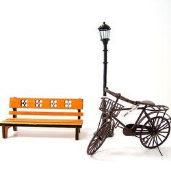 런던 거리 3종 - 자전거 3color 택1