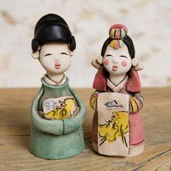 한국전통 신랑신부 (소) 2p 세트