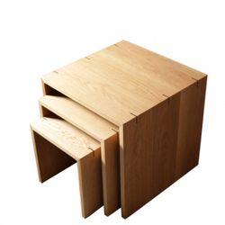 Oak Step Table (오크 스텝 테이블)