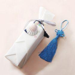 전통 삼베 포장천 [설백색]