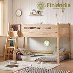 핀란디아 에피나 벙커침대+견면매트(트윈)