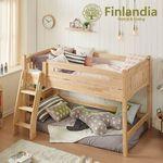 핀란디아 에피나 벙커침대+포켓매트(트윈)