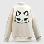 판다캣 맨투맨 티셔츠(Ivory) 4세용