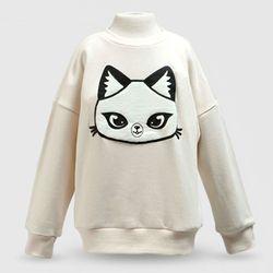판다캣 맨투맨 티셔츠(Ivory) 6세용