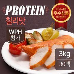 맛있닭 프로틴 훈제닭가슴살 칠리맛 100gX30팩