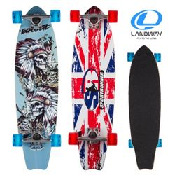 LW33 롱보드 스케이트보드 33 캐나다산 9겹 단풍나무