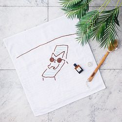 [GIFT] SNOWCAT BAMBOO BATH TOWEL (GOOD DAY)