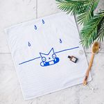 [GIFT] SNOWCAT BAMBOO BATH TOWEL (STAY COOL)