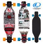 LW35 롱보드 스케이트보드 35 캐나다산 9겹 단풍나무