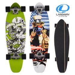 LW30 롱보드 스케이트보드 35 캐나다산 9겹 단풍나무