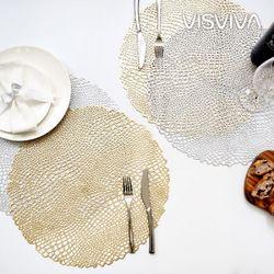 [비스비바]와니 식탁매트 4P 2종택1