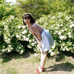 [다함한복] 투톤 레이스 - 허리치마
