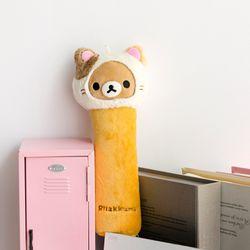 리락쿠마 고양이 봉제 필통