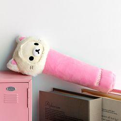 코리락쿠마 고양이 봉제 필통