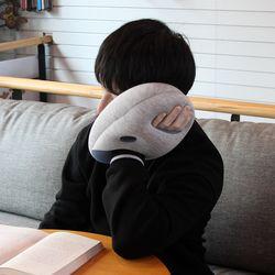 NAP PILLOW mini 마이크로비즈 타조 글러브 쿠션 베개