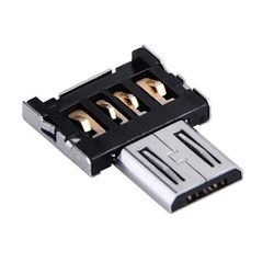 새로텍 USB OTG micro 5핀젠더