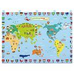 벽걸이 교구 - 세계 여러 나라(누리과정)