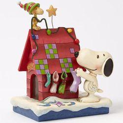 산타를 기다리는 스누피와 우드스탁 (4042372)