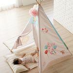 [무료배송] 포몽드  아기 인디언 텐트 사자와친구들