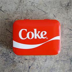 코카콜라 직사각 다용도 케이스