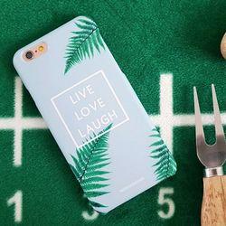 Live Love Laugh 잎사귀