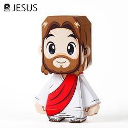 토브스토리 성경인물페이퍼토이 A4토이 예수님
