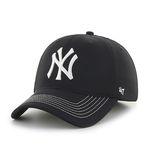 47브랜드 MLB모자 뉴욕 양키즈 블랙 메쉬