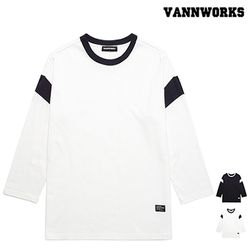 밴웍스 7부  SLEEVE BASIC 티셔츠(VNAFTS314)