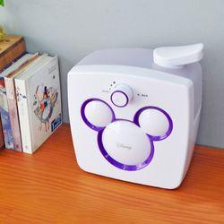 디즈니 미키마우스 초음파 가습기 퍼플  WDH-156
