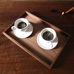 Walnut Wood Tray (월넛 우드 트레이)