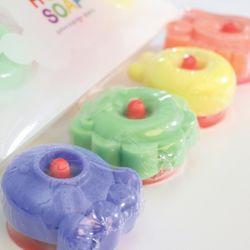 HU=3 SOAP<세트><유아용 천연비누>