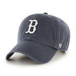 47브랜드 MLB모자 보스톤 레드삭스 네이비 빈티지