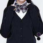 교복왕 교복 여자 가디건 네이비 블랙 2color