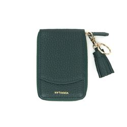 버밀란 포켓 카드 지갑 - 그린
