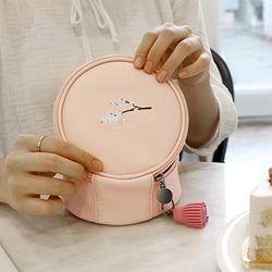 테슬포함 D.LAB PangPang Pouch - 벚꽃나무 Pink