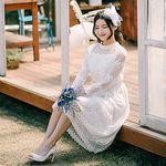 눈꽃비 셀프웨딩 드레스