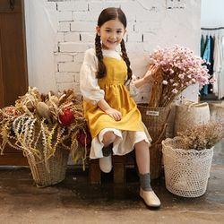 키즈 앤 에이프런 : Kids ann apron-yellow
