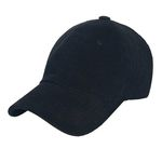 Corduroy A Ball Cap (black)