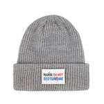 Patch Point Beanie (gray)