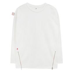 Point Zip T-shirts (white)