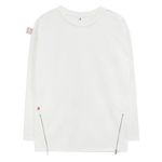 Point Zip T-shirts (white)