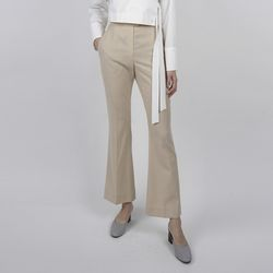 BOOTS CUT PANTS BEIGE