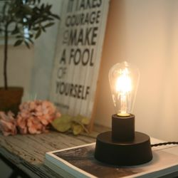 [미니 스탠드 세트] R-mini Table Lamp  Black