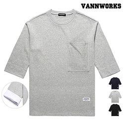 밴웍스 POCKET7부 티셔츠(VNAFTS302)3colors