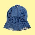 [LAZY OAF X DISNEY] MICKEY MOUSE DENIM DRESS
